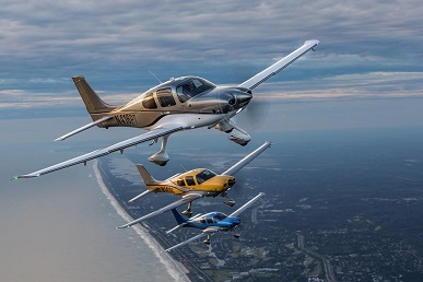 Cirrus SR22 air taxi fractional ownership