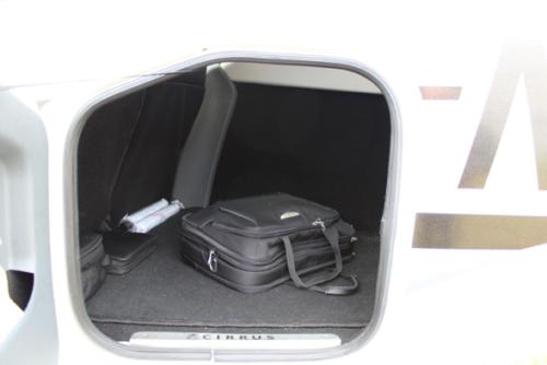 Gepäck in einem Privatflugzeug