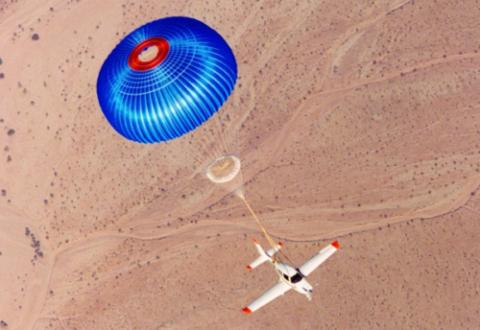 parachute jet privé