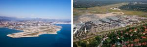 Airports Nice & Hamburg