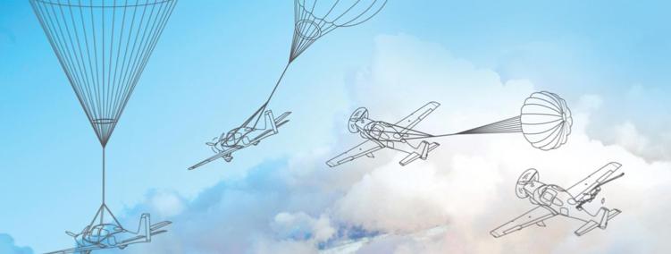 Parachute pour avion Cirrus SR22
