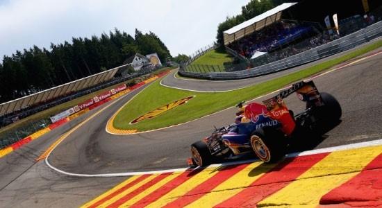 Circuit F1 Spa-Francorchamps