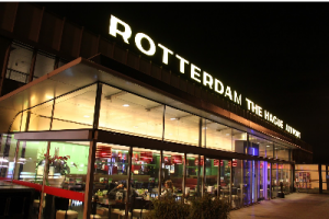 Regionale luchthaven Rotterdam the Hague airport