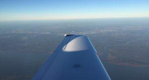 uitzicht huren prive jet Nice Frankrijk