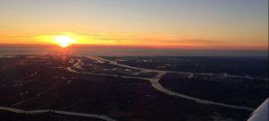 Vlieg per luchttaxi over de haven Rotterdam