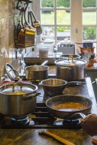 een culinair weekend weg naar la maison blanche aux volets bleusmet een lucht taxi