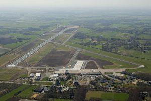 Overhead Groningen Airport