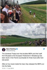 European Parliament MEP post