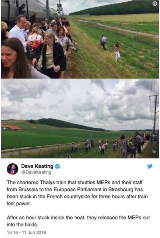 Parlement Européen Thalys