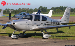 Cirrus Flugzeug Lille