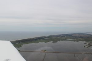 arrival at sylt with cirrus sr22 air taxi
