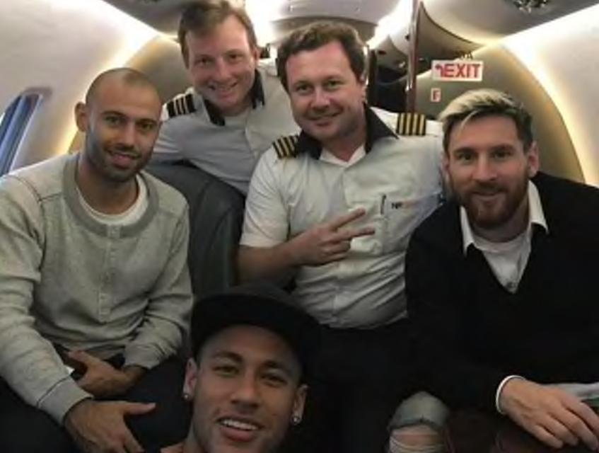 Jet privé de Neymar