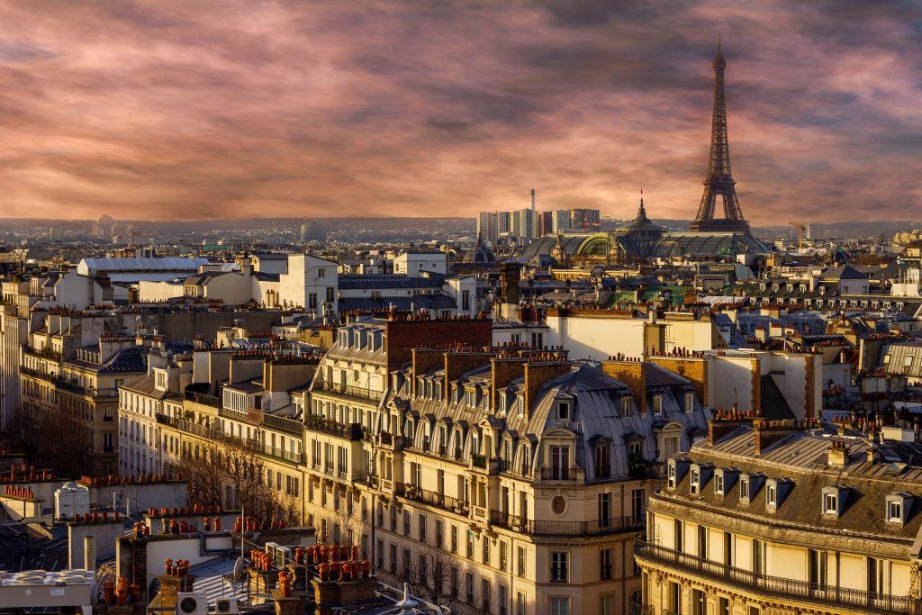Paris top European cities trend
