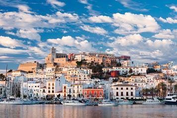 Prive vlucht naar Ibiza
