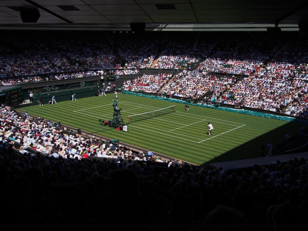 Private jet to Wimbledon