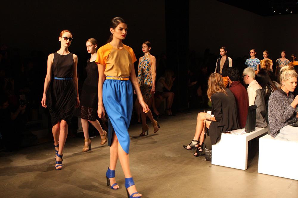Fashion Week with an air taxi