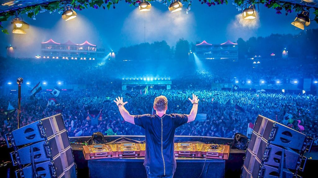 Hardwell bei Tomorrowland