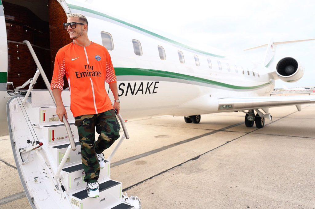 Jet privé Dj Snake