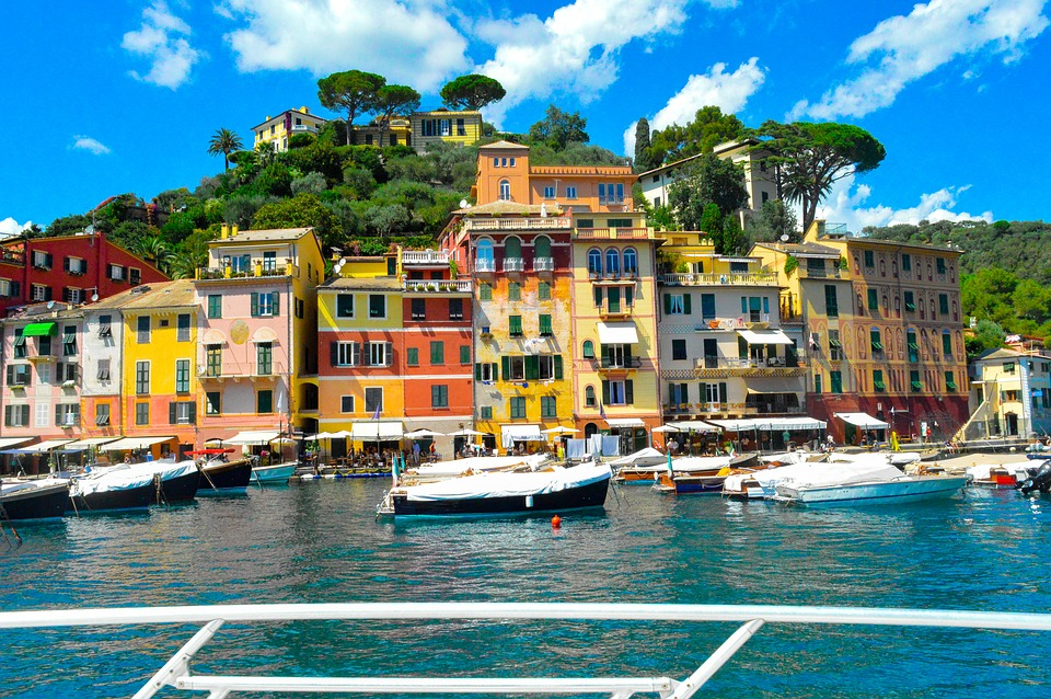 Fly privatly to Portofino