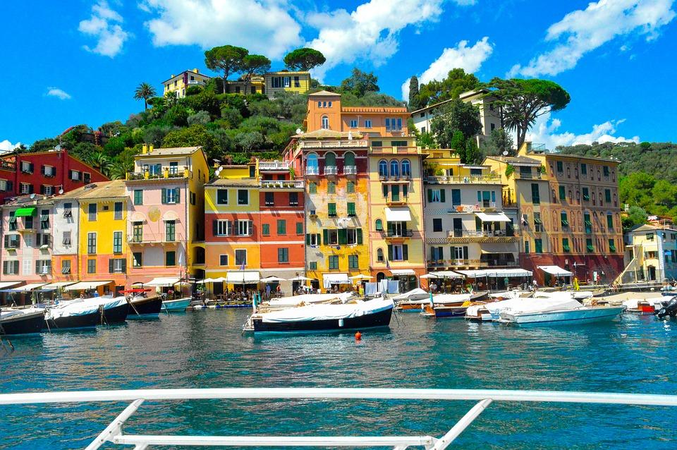Fly privatly to Portofino