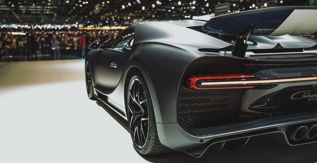 Voiture de luxe Bugatti