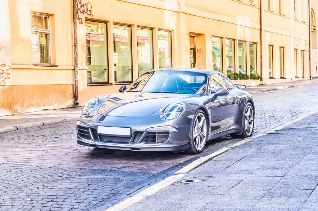 Voiture de luxe Porsche