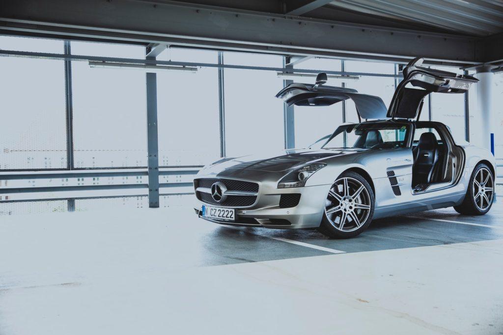 Voiture de luxe Mercedes Benz