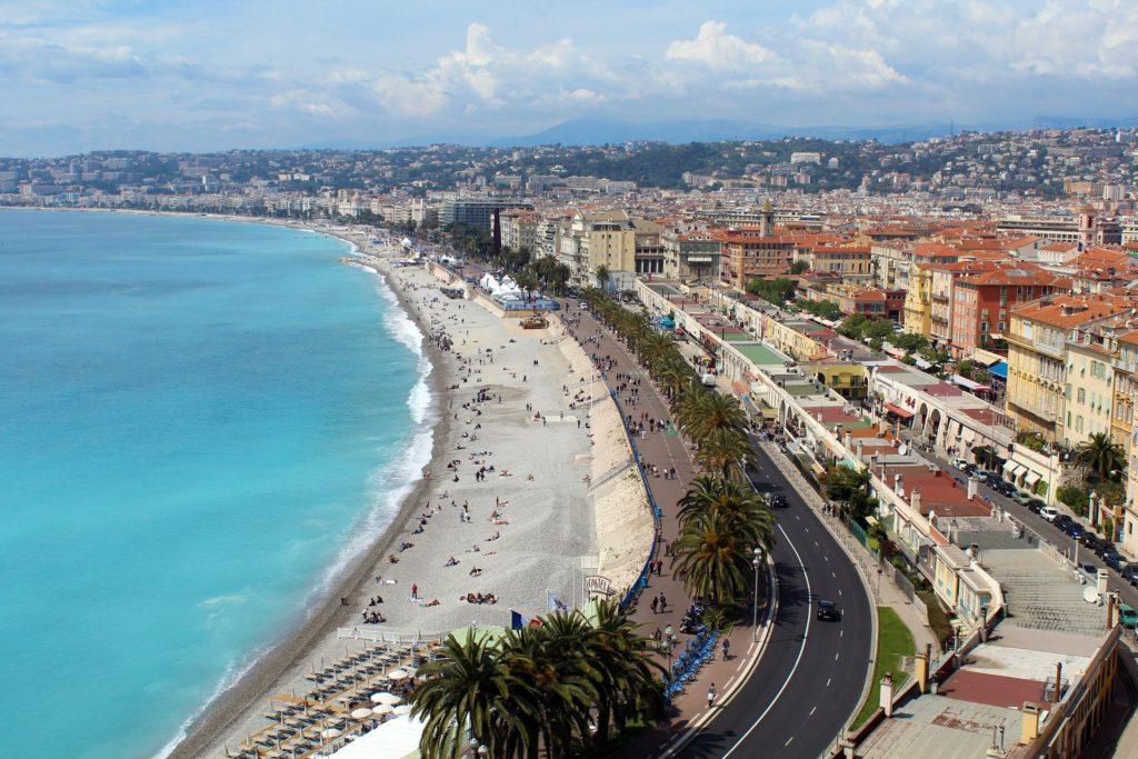 Privatjet Nizza: Die Stadt