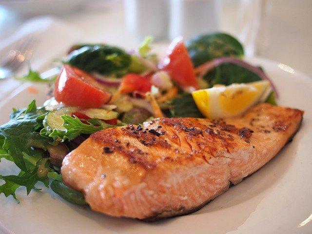 salmon food nice
