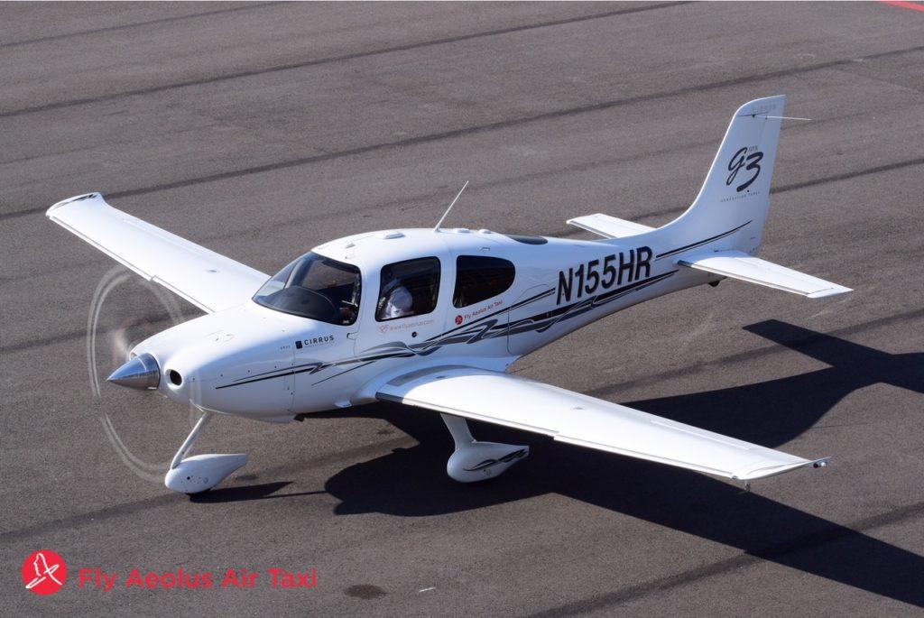 Continental Cirrus flying