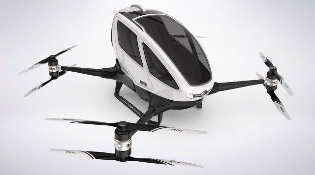 Passagier Drohne