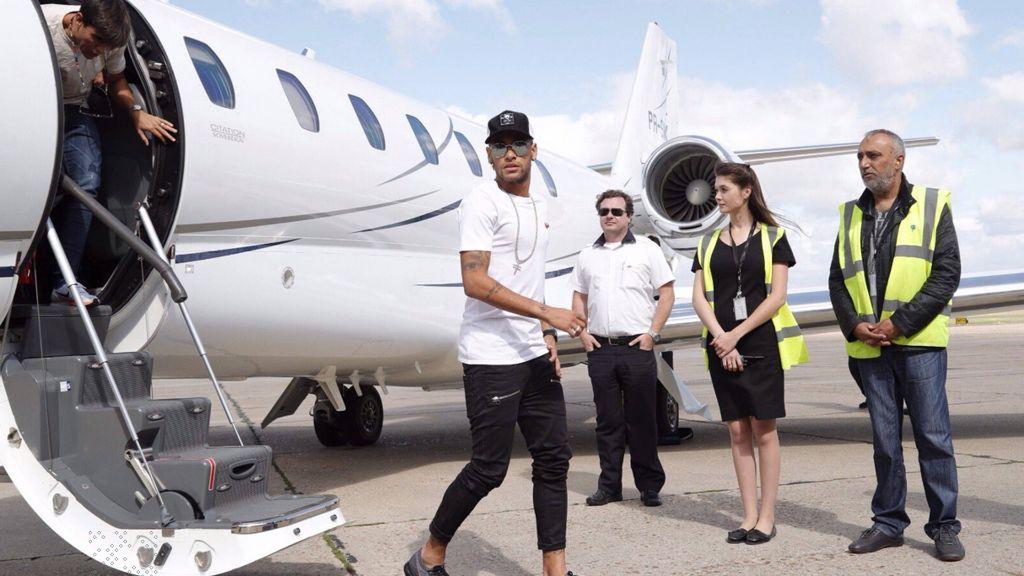 businessjet mieten neymar privat jet
