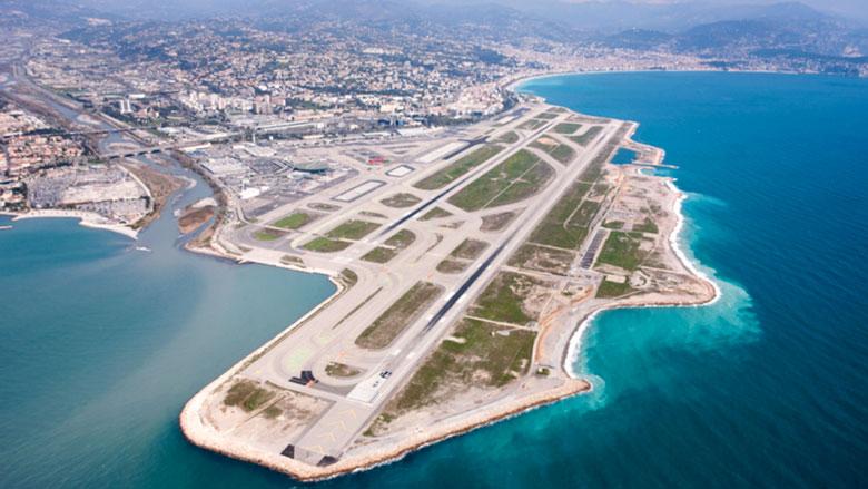 Nice Cote d'Azur vliegveld