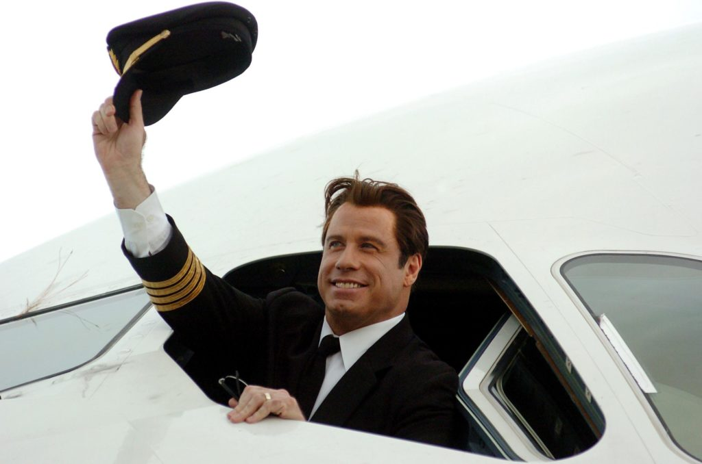 Prominente, die Flugzeuge fliegen: John Travolta Flugzeug