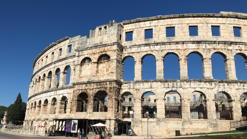 holidays in Pula: amphitheater/pula arena/colosseum