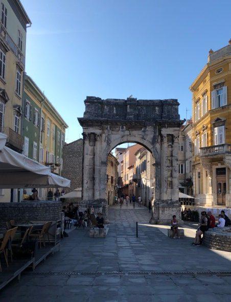 Triumphbogen Urlaub in Pula