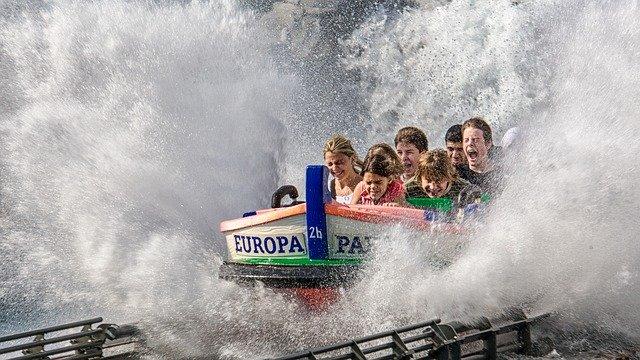 Atlantic supersplash Wasserfahrt