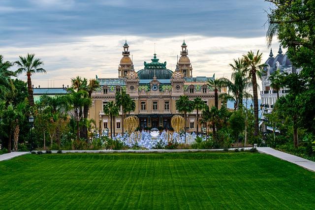 Lucht taxi trip: Monte-Carlo Casino