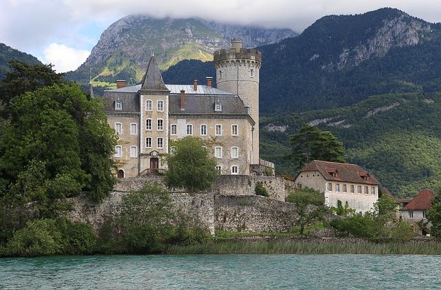 Het kasteel van Annecy