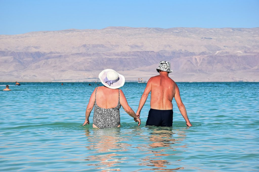 Travelling with an elderly person