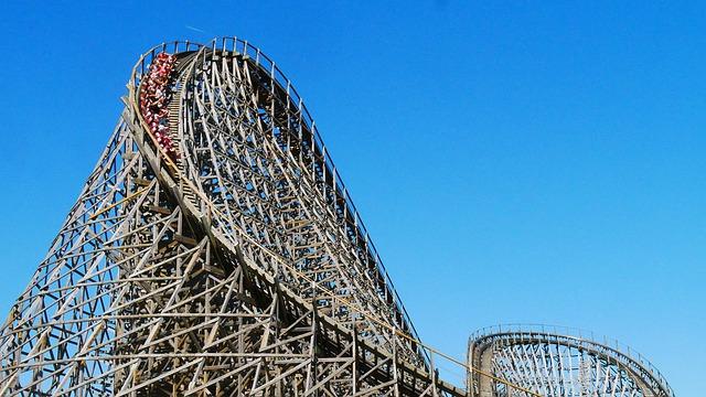 Efteling, roller coaster, amusement park, sightseeing in the Netherlands