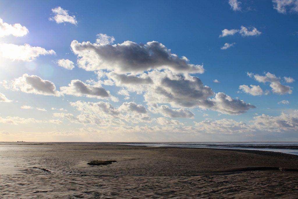 Schiermonnikoog island, beach, Netherlands