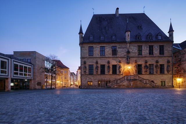 Het stadhuis van Osnabrück, bezoek Osnabrück per privé jet