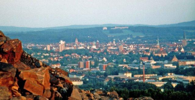 Uitzicht vanaf de Piersberg, bezoek Osnabrück per prive jet