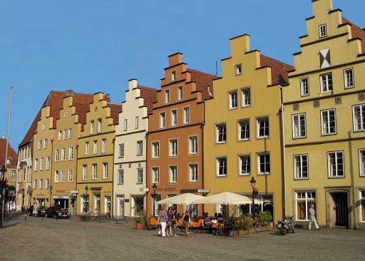 Bezoek het oude centrum van Osnabrück per lucht taxi