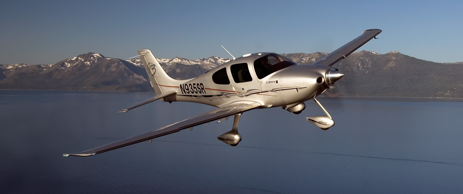 De luchttaxi Cirrus SR22
