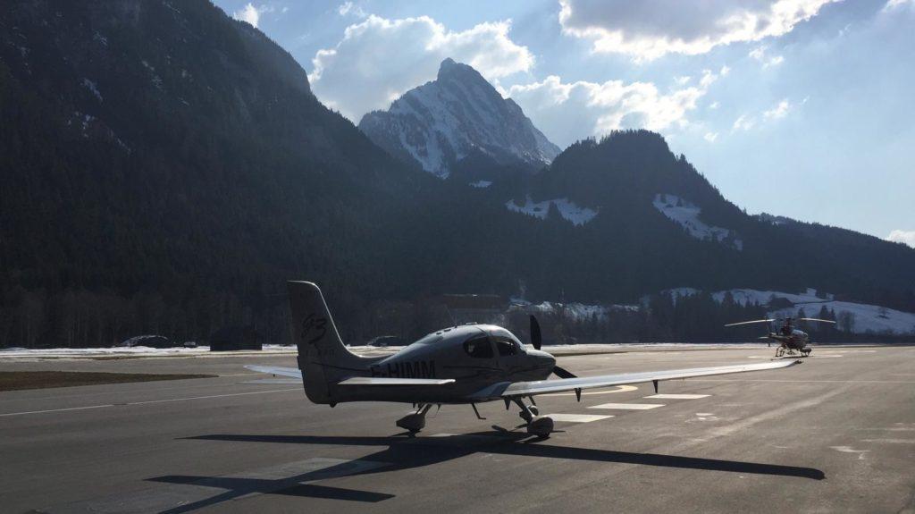 Flugplatz Gstaad