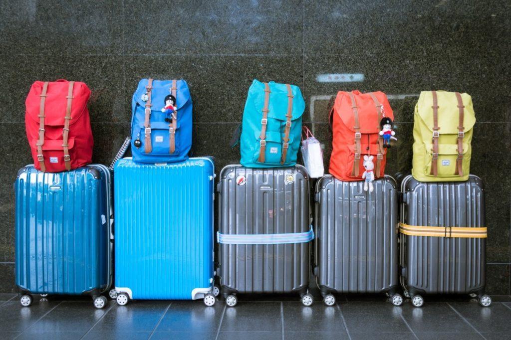 Aufgegebenes Gepäck und Handgepäck