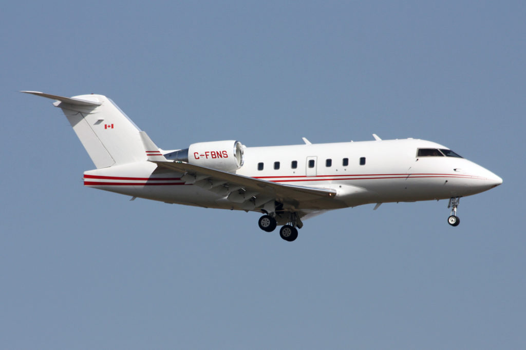 The private jet: Challenger 604