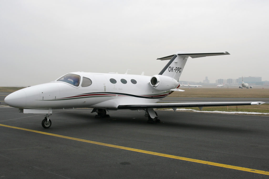The light size jet: Cessna Citation Mustang